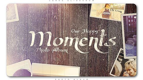Happy Moments Slideshow - Project for After Effects (Videohive)