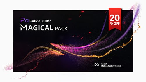 Particle Builder | Magical Pack: Magic Awards Abstract Particular Presets - Presets for After Effects (Videohive)