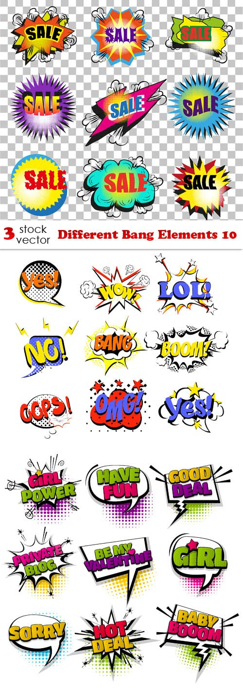 Vectors - Different Bang Elements 10