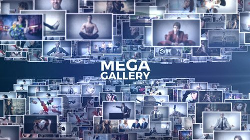 Mega Gallery - Project for After Effects (Videohive)