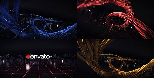 Digital Wire Ribbon Logo Reveals - Project for After Effects (Videohive)