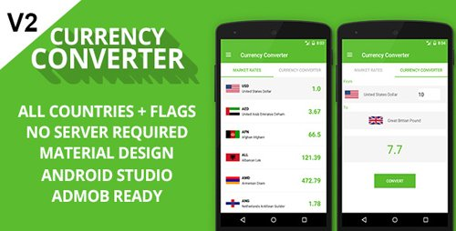 CodeCanyon - Currency Converter v1.2 + Admob Ready - 18294113