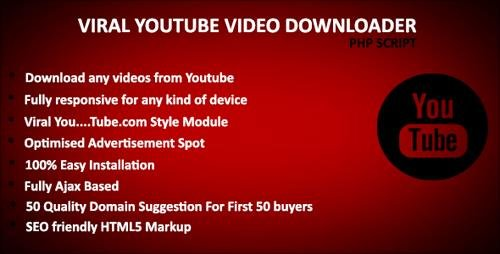 CodeCanyon - Moko Viral YouTube Downloader v1.0 - Best Viral YouTube Video Downloader Script - 21174271