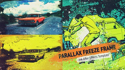 Parallax Trailer - Project for After Effects (Videohive)