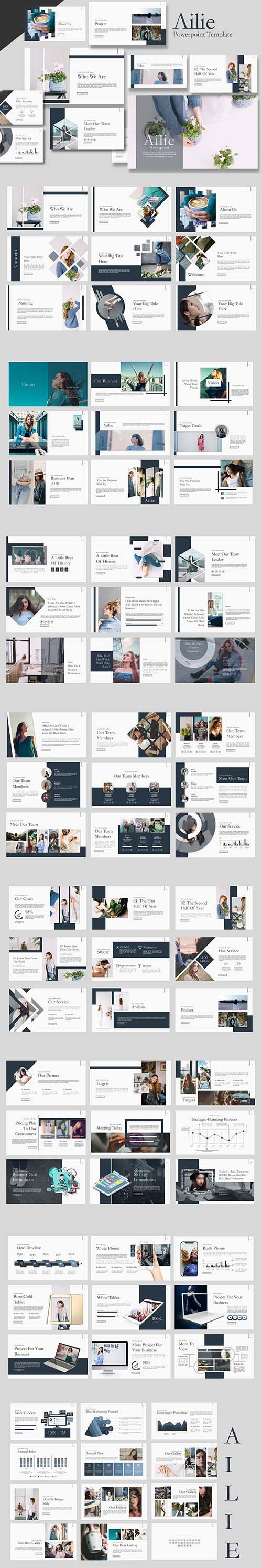 Ailie Powerpoint Template