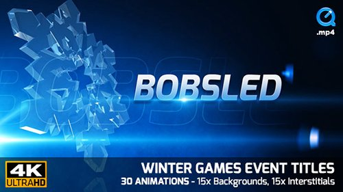 Winter Games Event Titles 4K 21332924