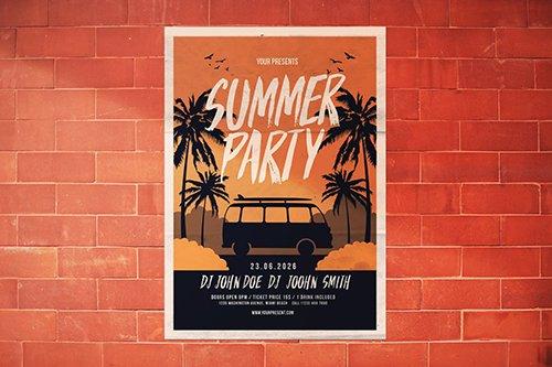 PSD Summer Party Flyer