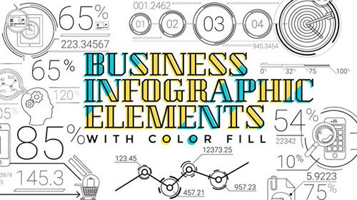 30 Line Infographic Elements