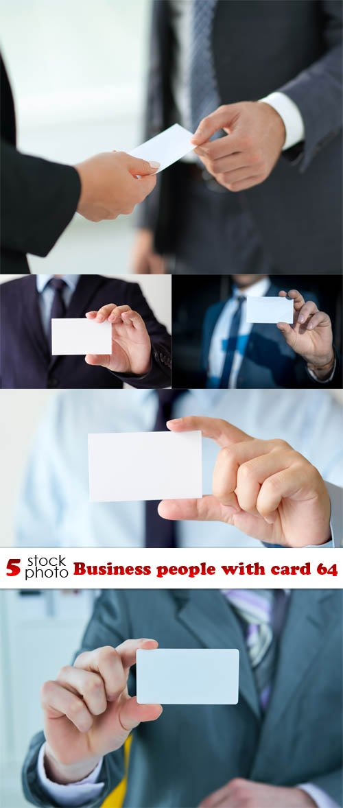 Photos - Business people with card 64