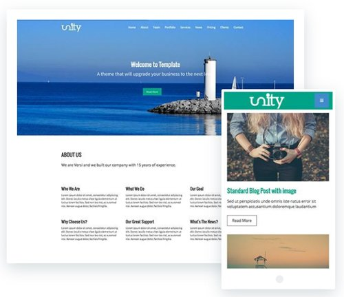 ThemeXpert - Unity v1.0 - Responsive One Page Joomla Template