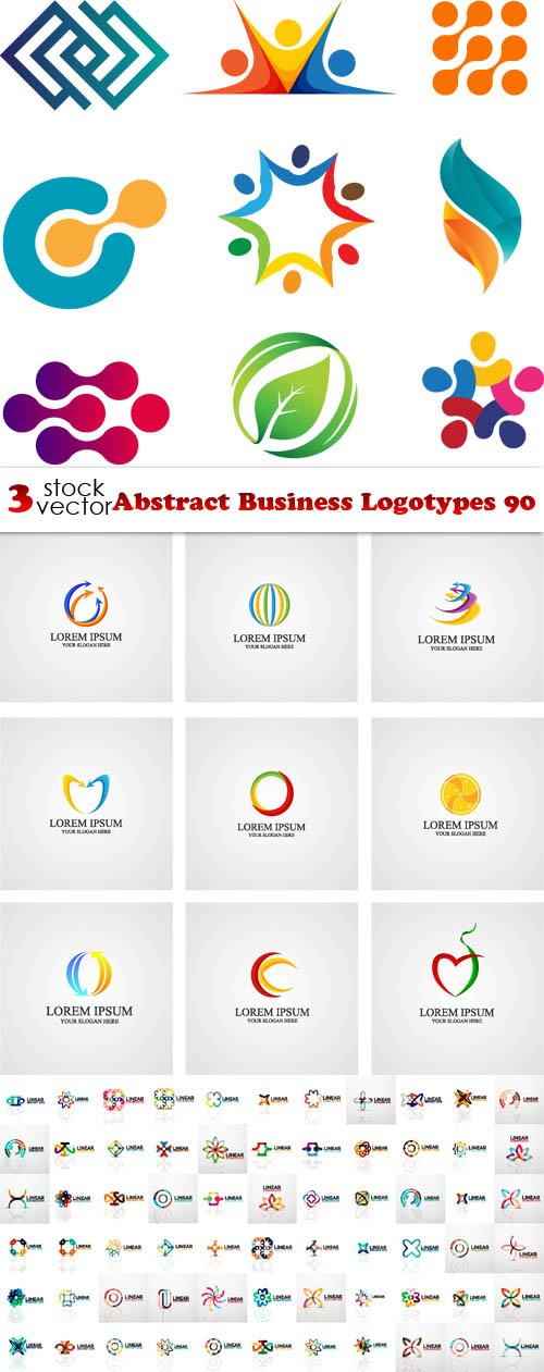 Vectors - Abstract Business Logotypes 90