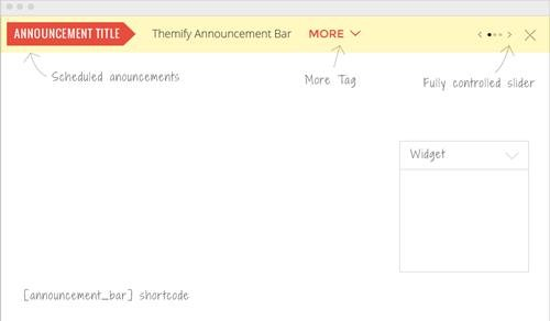 Themify - Announcement Bar v1.2.7 - WordPress Plugin