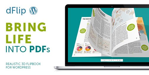 CodeCanyon - dFlip v1.4.31 - PDF FlipBook WordPress Plugin - 16408847