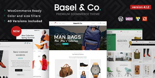 ThemeForest - Basel v4.1.2 - Responsive eCommerce Theme - 14906749
