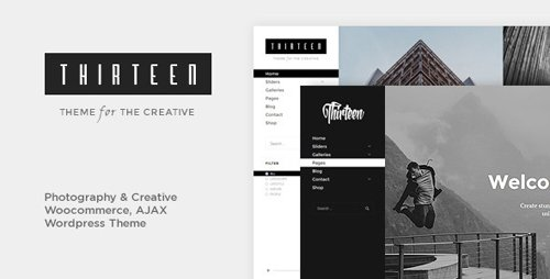 ThemeForest - Thirteen v1.2.7 - Photography & Creative WordPress Theme - 13269243 - NULLED