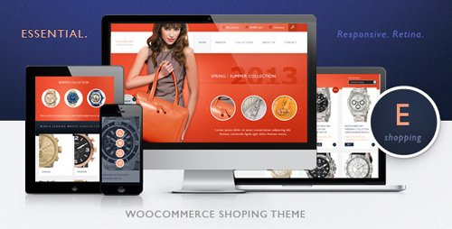ThemeForest - Essential v1.2.43 - Responsive WooCommerce eCommerce and Auction Theme - 5789584