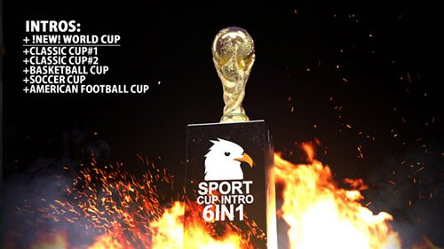 Sport Cup Intro - Project for After Effects (Videohive)