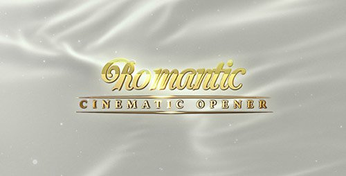 Romantic Opener and Slideshow - Project for After Effects (Videohive)