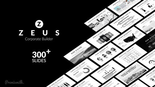 Zeus Corporate Builder - Project for After Effects (Videohive)