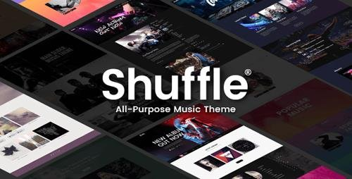 ThemeForest - Shuffle v1.4 - All-Purpose Music Theme with Genre-specific Skins & Homepages - 18281364