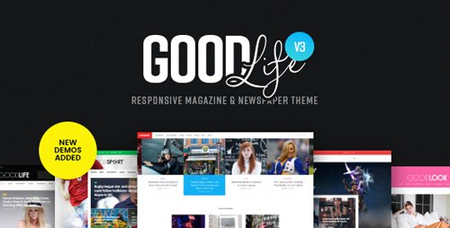 ThemeForest - GoodLife v3.2.8 - Responsive Magazine Newspaper Theme - 13638827 - NULLED