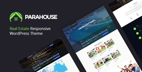 ThemeForest - Parahouse v1.3.1 - Modern Real Estate WordPress Theme - 18150539