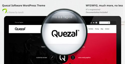 ThemeForest - Quezal v2.6.0 - Software Responsive WordPress Theme - 8500596