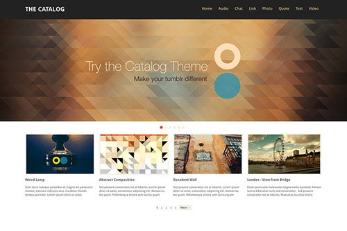 ThemeLantic - Catalog v1.5 - Tumblr Theme