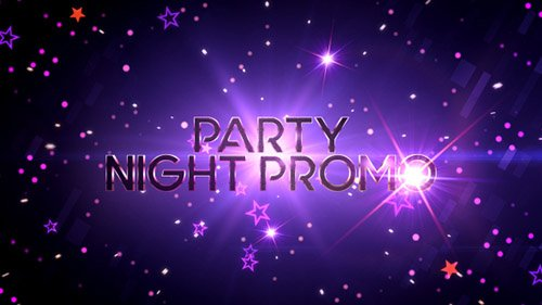 Party Night Promo - Project for After Effects (Videohive)
