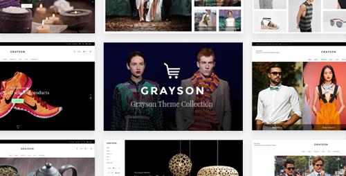 ThemeForest - Grayson v1.5 - A Stylish and Versatile Shop Theme - 17794719