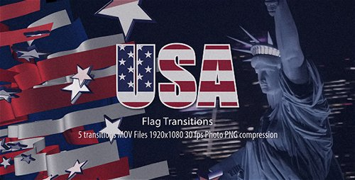 USA Flag Transitions 21486417