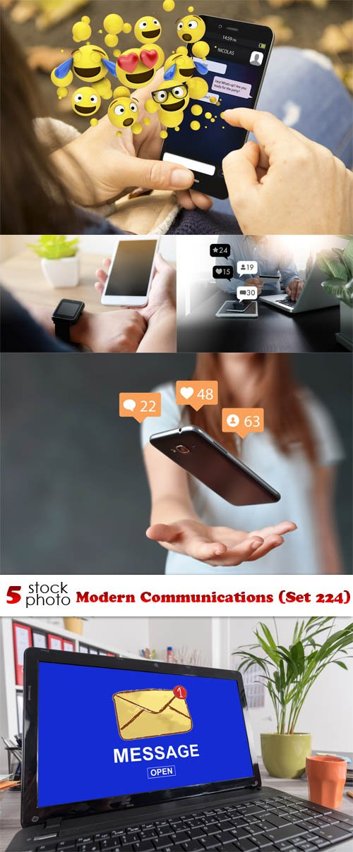 Photos - Modern Communications (Set 224)