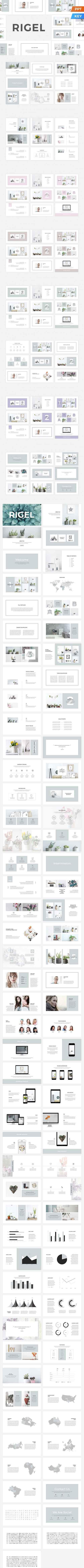 CreativeMarket - Rigel Presentation Template
