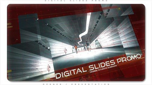 Digital Slides Promo - Project for After Effects (Videohive)