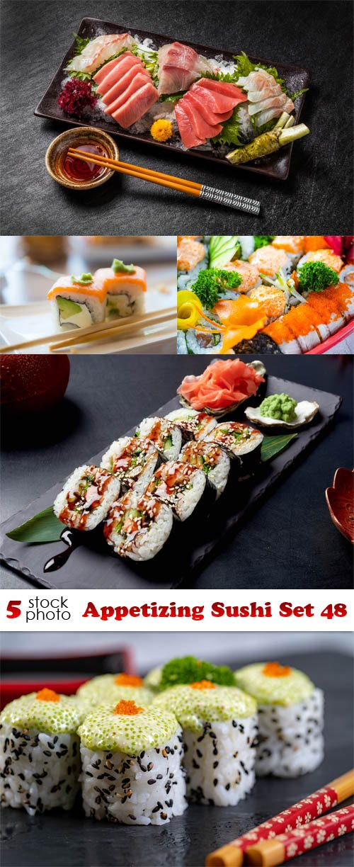 Photos - Appetizing Sushi Set 48