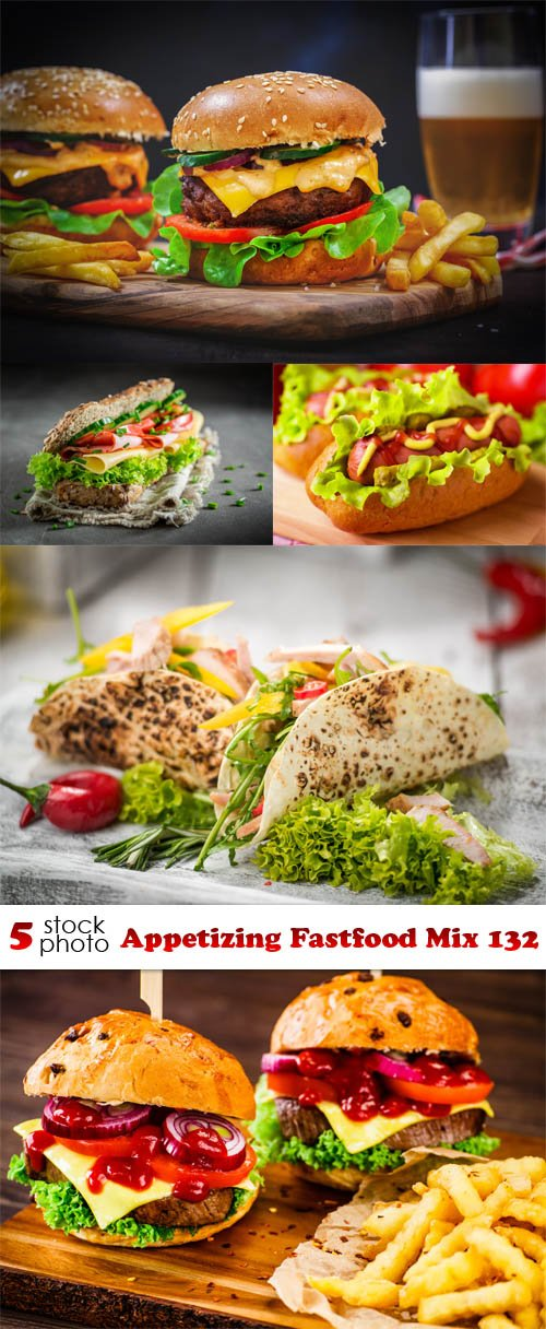 Photos - Appetizing Fastfood Mix 132