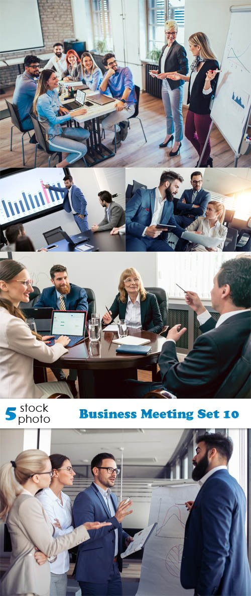 Photos - Business Meeting Set 10