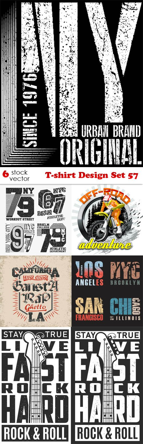 Vectors - T-shirt Design Set 57