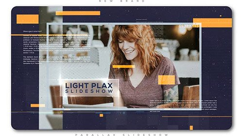 Light Parallax Universal Slideshow - Project for After Effects (Videohive)