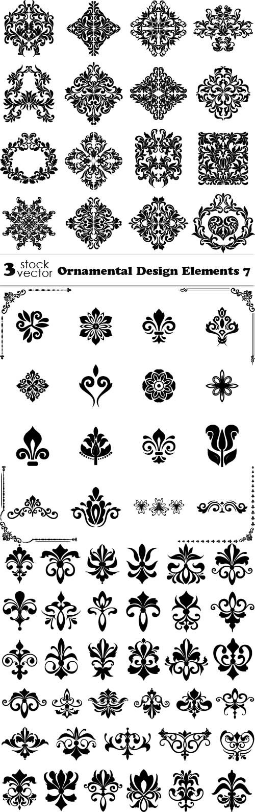Vectors - Ornamental Design Elements 7