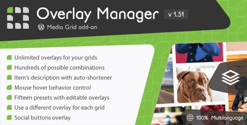 CodeCanyon - Media Grid - Overlay Manager add-on v1.51 - 6643138