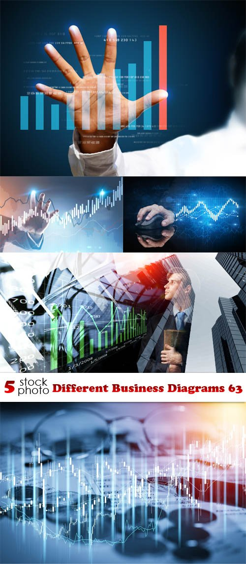 Photos - Different Business Diagrams 63