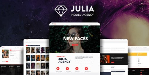 ThemeForest - Julia v1.7.9 - Talent Management WordPress Theme - 13291157