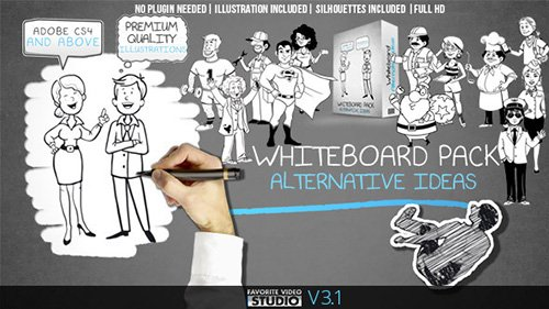 Whiteboard: Alternative Ideas - Project for After Effects (Videohive)
