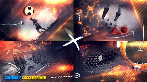 Cinematic Soccer Opener - Project for After Effects (Videohive)