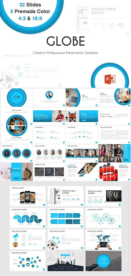 Globe - Powerpoint Template