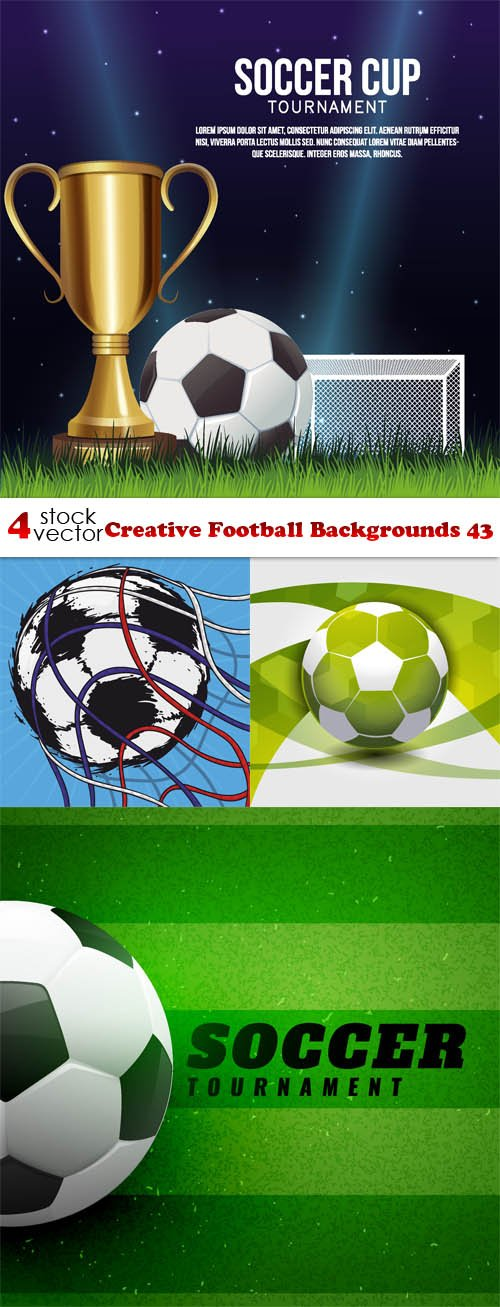 Vectors - Creative Football Backgrounds 43