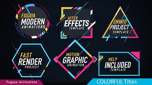 Colorful Titles 22009789 - Project for After Effects (Videohive)