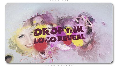 Drop Ink Logo Reveal - Project for After Effects (Videohive)