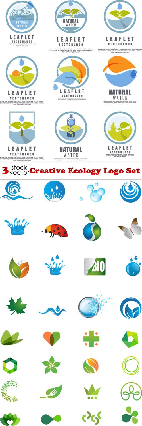 Vectors - Creative Ecology Logo Set